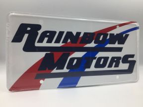Supernatural 'Rainbow Motors' License Plate